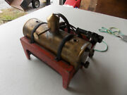 Rare Weeden Electric Fired Live Steam Very Old On Cast Iron Base Free Ship