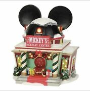 Disney Dept 56 Mickeys Merry Christmas Village Mickeys Holiday Center New
