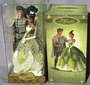 Tiana And Naveen Doll Edition Limited Fairytale Collection Disney Store 6000 Ex