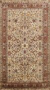 Floral Vegetable Dye Hand-knotted Agra Oriental Area Rug Home Decor 6x9 Carpet