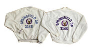 Vintage His And Hers Jacket B.p.o.e 2145 Springfield Elks Lodge Womens-l Mens-l