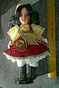 """Jeannie Di Mauro Antique Reproduction Doll 11"""" French Bisque Bru Shandele"""