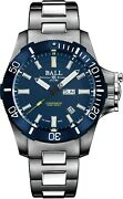 Authorized Dealer Ball Engineer Hydrocarbon Submarine Warfare Blue Dial And Bezel