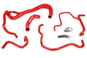 Hps Red Silicone Radiator Heater Hose Srt 392 Coolant Upper Lower 57-1675-red