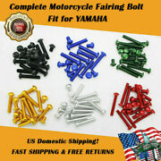 Us Stock Motorcycle Fairing Bolt Kit Screws Fit For Yamaha Yzf R1 R6 R6s New