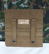 Us Army Marine Corps Eagle Industries Admin Pouch Side Molle Plate Pocket Coyote