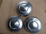 Vintage Early 1960s Dodge Plymouth Chrysler 10 Dog-dish Wheel Covers Hub Caps