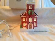 Dept. 56 And The Heritage Village Collection Old North Church .w/light,boxed