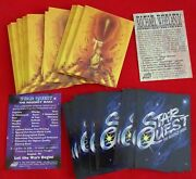 1995 Other Worlds Michael Whelan Ii And Star Quest The Regency Wars 63 Promo Cards