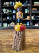 Vintage 1940s-50s Kitchen Table Crumb Brush Duster Figure