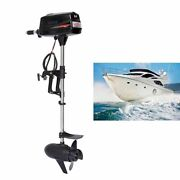 1800w Heavy Duty 7.0hp Brushless Electric Boat Outboard Motor Boat Engine 48v Ce
