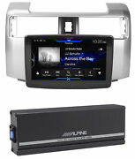 Alpine 9 Bluetooth Caprplay Receiver+power Pack For 2014-2019 Toyota 4-runner
