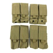 4 Lbt 2 X 2 Double Magazine Pouch Molle Coyote Brown Mag London Bridge Trading