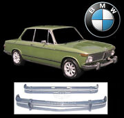 Brand New Bmw 02 Series Pre 1971 Stainless Steel Bumpers