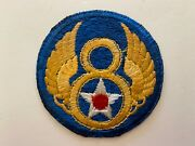 Pk885 Original Ww2 Us Army Air Force 8th German Made Patch L2a