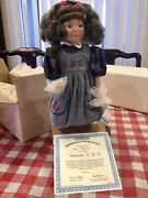 Rare Collectible Porcelain Doll By Dianna Effner Autumn And A-b-candrsquos Ashton Drake