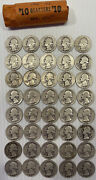 Roll Of 40 Quarters Years 1941-42 As