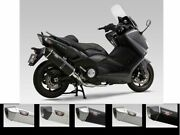 Complete Line Yoshimura Hepta Force Stainless Steel/carbon Yamaha Tmax 530 - New