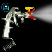 Silver Flex Plus Airless Spray Gun 248157 With Guard And 217 Tip For Road Marking
