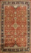 Vegetable Dye Floral Agra Traditional Hand-knotted Oriental Area Rug 9x12 Carpet