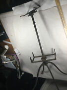 Antique Flanagan Chicago Adjustable Cast Iron Bible Dictionary Book Music Stand