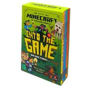Minecraft Into The Game The Woodsword Chronicles Collection 4 Books Set | Ab Mo