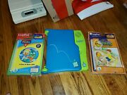 Leapfrog Leappad Learning With System Used With 2 New Games/books