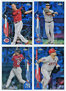 2020 Topps Chrome Update Sapphire Base U1-300 - Pick From Lot