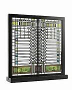 12 Inch Frank Lloyd Wright Collection Martin House Casement Window