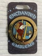 Disney Beauty And The Beast Enchanted Emblems Pin Limited Edition Belle Wdw Dlr