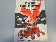 Old Case Model Sc And Dc Series Farm Tractor Brochure