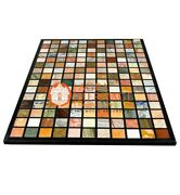 Marble Living Guest Room Table Top Mosaic Muli Inlay Stone Furniture Decor E611