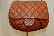Cc Flap Lambskin Quilted Large Chain Around Messenger Shoulder Bag Tote