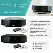 Bose Wave Music System Iv With Remote Cd Player And Am/fm Radio-black Silver