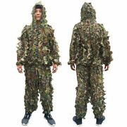 Hunting Secret Woodland Ghillie Suit Aerial Shooting Sniper Clothes Camouflage
