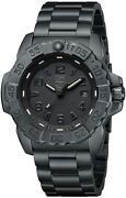 New Luminox Navy Seal Steel Blackout Diver Watch 3252.bo Authorized Dealer