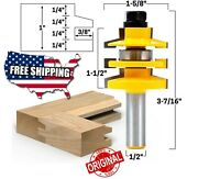 Bevel Stacked Rail And Stile Router Bit - 1/2 Shank - 12123 Router Bits Tools