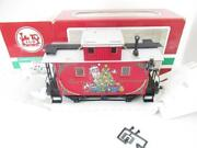 G Scale - Lgb 44650 - Christmas Caboose W/metal Wheels- Boxed- Exc. - Hb1