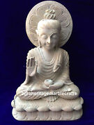 12 Natural Soap Stone Marble Buddha Carved Handmade Collectible Decor Worship