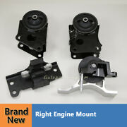 Trans Mount For 2004 2005 2006 Nissan Maxima 3.5l Set 4pcs Of Front Motor And Auto