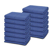 12 Moving Blankets 80 X 72 40 Lb/dz Quilted Shipping Furniture Pads Bl/blk