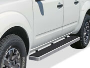 Iboard Running Boards 6 Inches Fit 05-21 Nissan Frontier Crew Cab