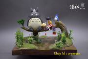 Forest Among Anime Hayao Miyazaki Series Totoro Limited Statue Model In Stock