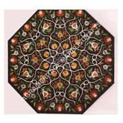 48 Modern Marble Top Dining Table Marquetry Inlay Handmade Design Decor H4980a