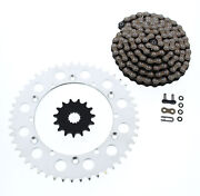 Cz Orh X Ring Chain And Sprocket 15/49 114l 1998 Yamaha Wr400 F And Yz400 F