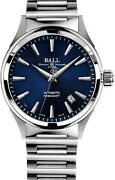 Authorized Dealer Ball Fireman Victory 40mm Blue Dial Nm2098c-s3j-be