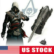 Assassinand039s Creed4 Flag Pirate Cosplay Hidden Blade Edward Kenway Gauntlet Toy