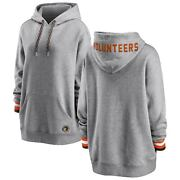 Tennessee Volunteers Wear By Erin Andrews Womenand039s Pullover Hoodie - Heathered