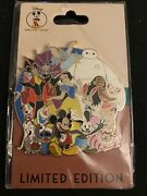 Disney Dec Character Cluster Le 250 Pin Baymax Stitch Moana Cheshire Dumbo Judy