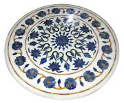 Marble Coffee Dining Table Top Lapis Inlay Marquetry Mosaic Furniture Decor H915